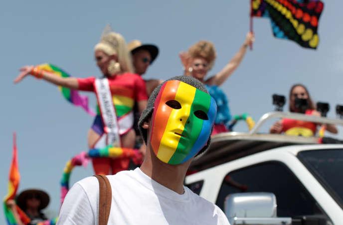 Gay Pride à Puerto Rico, le 26 juin 2016.