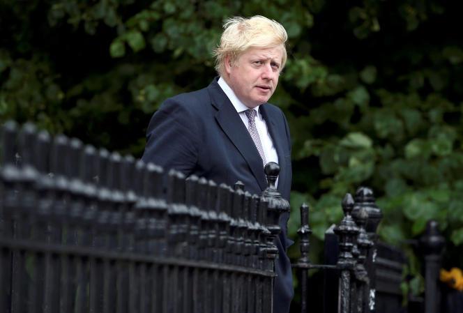 Boris Johnson,ancien maire de Londres et leader de la campagne pour la sortie du Royaume-Uni de l'Union européenne, le 27juin.