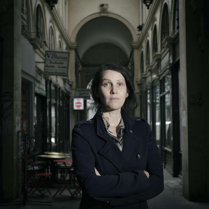 Adeline Rosenstein, à Paris, en juin 2016.