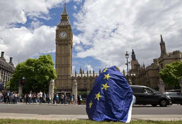 Le 23 juin 2016, un Britannique pro-UE sous le choc après le Brexit.