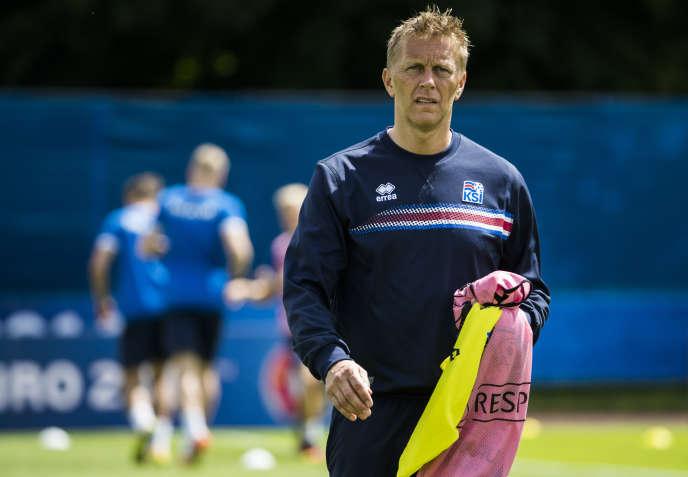 L'entraîneur islandais Heimir Hallgrimsson.