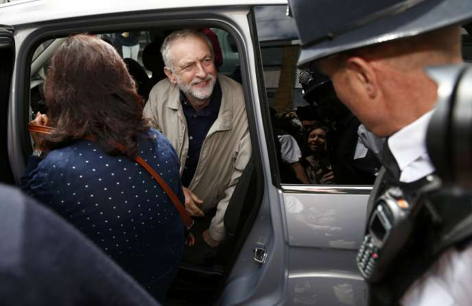 Jeremy Corbyn à Londres, dimanche 26 juin.