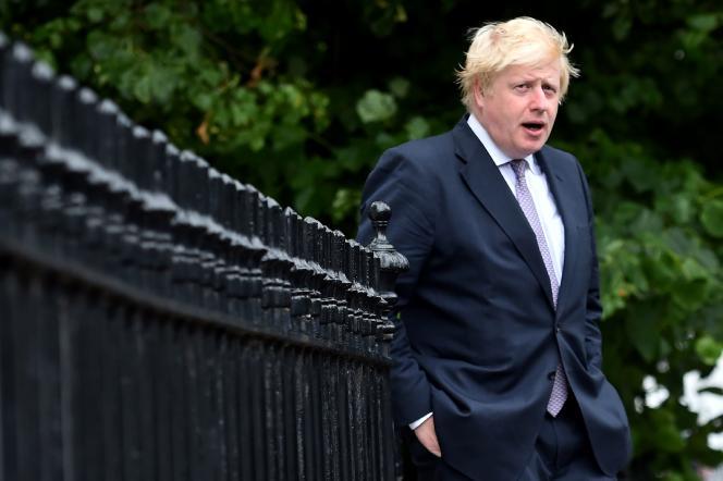 Boris Johnson, à Londres, le 27 juin.