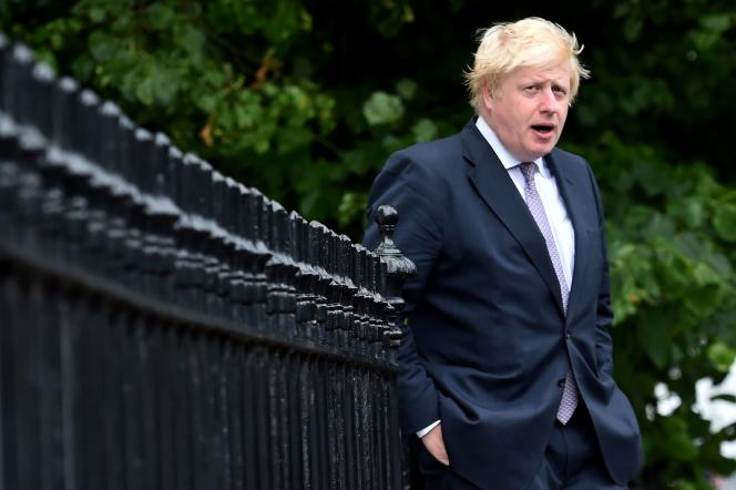 Le maire de Londres, Boris Johnson, le 27 juin à Londres.