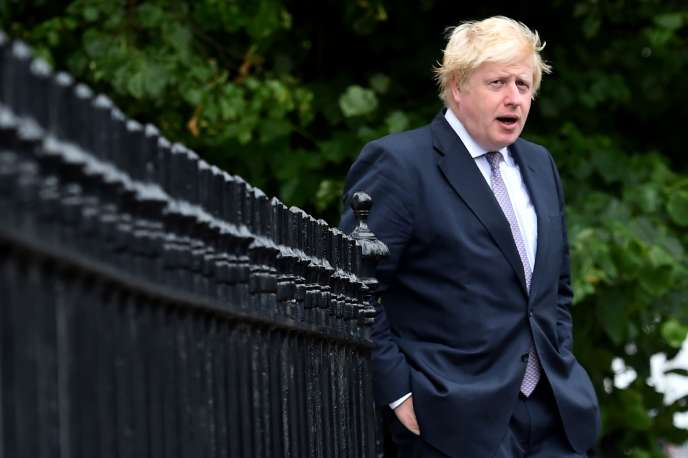 Boris Johnson, à Londres, le 27 juin.