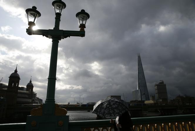 Vue du qurtier de la City, à Londres.