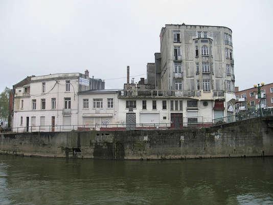 Le quai de Maubeuge.