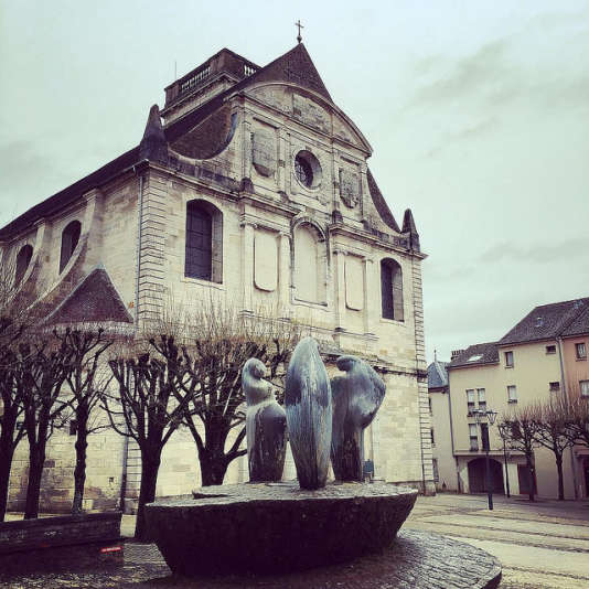 L'église Saint-Georges àVesoul.