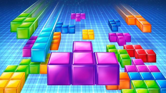 Image promotionnelle du jeu Tetris Ultimate, sur console Xbox One.