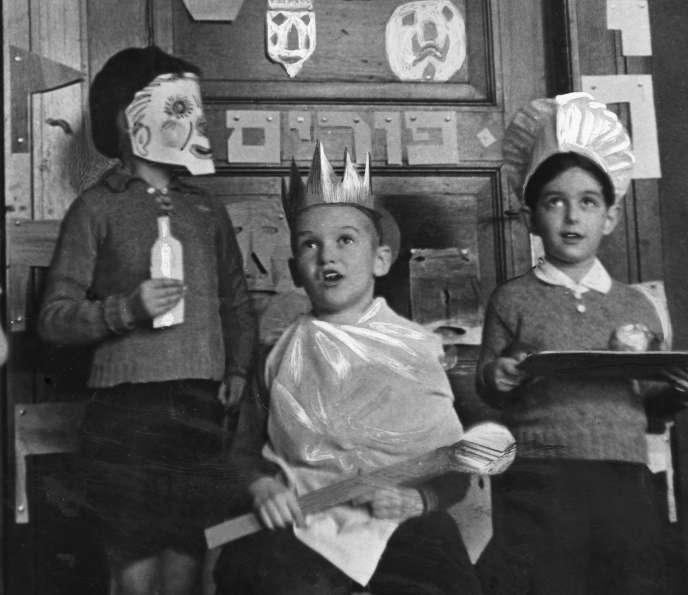 Enfants juifs, années 1930.