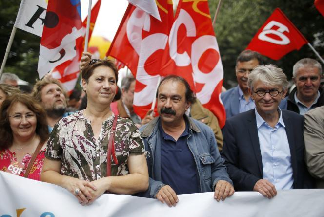 Philippe Martinez de la CGT et Jean-Claude Mailly de Force ouvrière défileront à nouveau contre la loi travail, le jeudi 15 septembre à Paris.