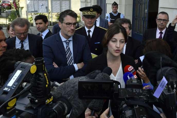 Juliette Méadel, lasecrétaire d'Etat chargée de l'aide aux victimes,le 28 juin.