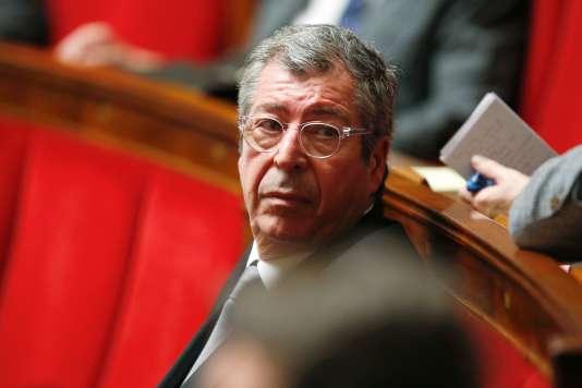Patrick Balkany à l'Assemblée nationale, en 2016.