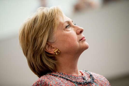 Hillary Clinton à Denver, le 28 juin.