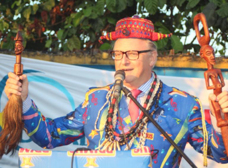 L'intronisation du nouveau directeur de Bralima, René Kruijt, le 23 octobre 2015