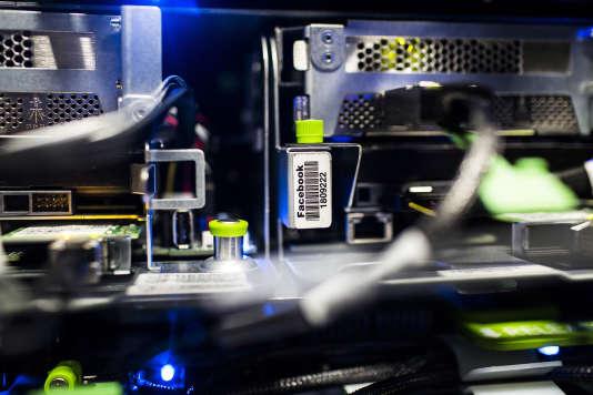 Dans le data center de Facebook, à Luleå (Suède).