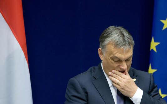Le premier ministre conservateur Viktor Orban tient un discours antimigrants.