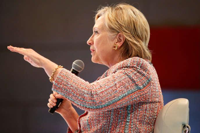 Hillary Clinton, candidate démocrate à l'élection présidentielle américaine, a été entendue par le FBI au sujet de ses e-mails, le 2 juillet.
