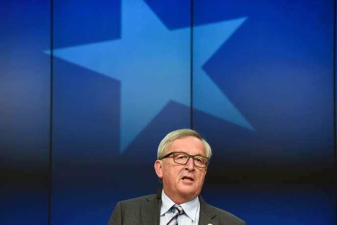 Jean-Claude Juncker à Bruxelles, le 26 juin.