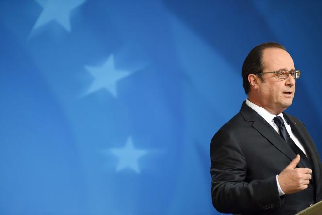 François Hollande à Bruxelles, le 29 juin.