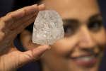 Lesedi La Rona, le plus gros diamant du monde, le 14juin.
