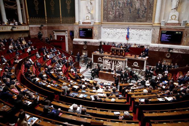 A l'Assemblée nationale, le 29 juin.