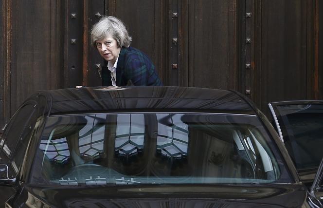 Theresa May, au Parlement de Londres, le 30 juin.