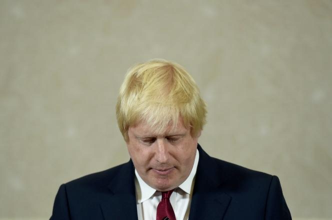 Boris Johnson, à Londres le 30 juin.