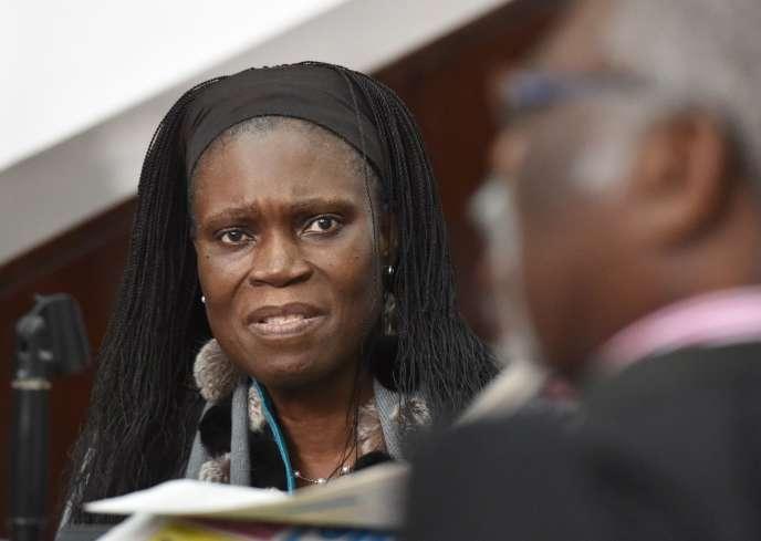 Simone Gbagbo, le 27 juin à Abidjan.