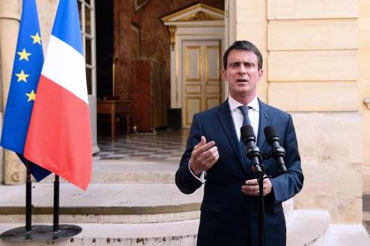 Le premier ministre, Manuel Valls, le 30 juin 2016.