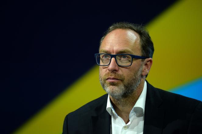 Jimmy Wales, cofondateur de Wikipédia.
