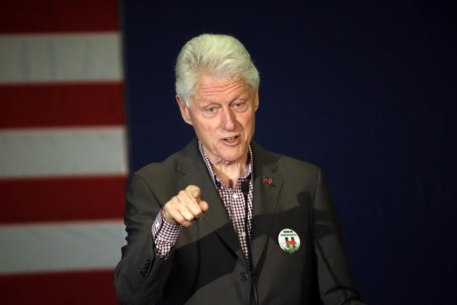 L'époux de la candidate démocrate américaine,Bill Clinton, à Portland (Oregon), le 5 mai.