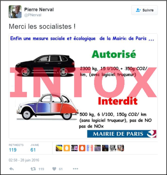 oui  les vieilles voitures interdites  u00e0 paris polluent