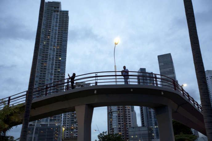 A Panama City, le 24 juin 2016. Le pays pourrait figurer sur la nouvelle liste noire des paradis fiscaux, élaborée par l'OCDE.