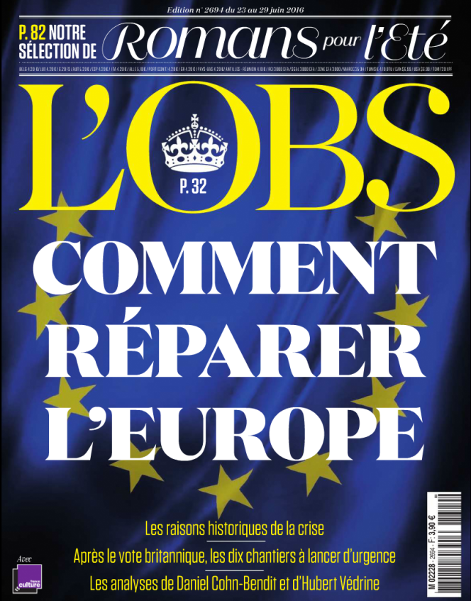 La couverture du numéro du 23 juin.