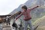 Manuel Camacho dans le film autrichien et espagnol de Gerardo Olivares et Otmar Penker, « L'Aigle et l'enfant» («Brothers Of The Wind»).