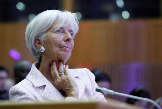 Christine Lagarde, le 1er juillet à Paris.