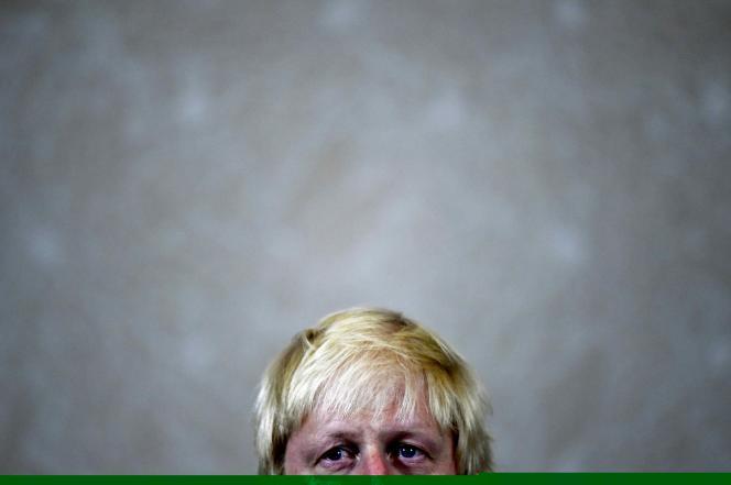 L'ancien maire de Londres,Boris Johnson, à Londres, le 30 juin.