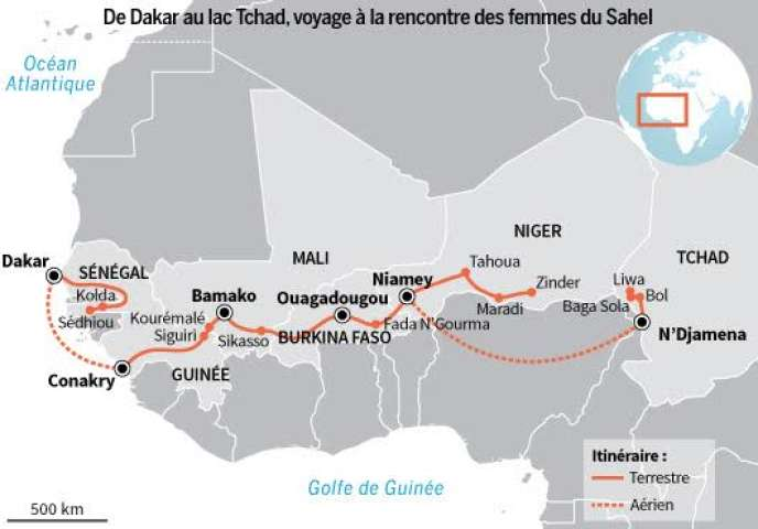 Deux mois et 4 000 km de route le long de ce «combat pour la vie»: la santé maternelle et infantile en Afrique de l'Ouest