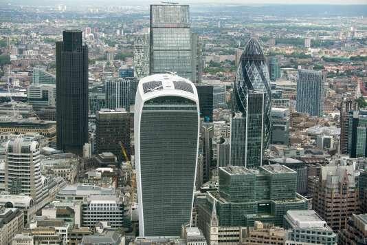 Le quartier des affaires de Londres, le 24 juin.