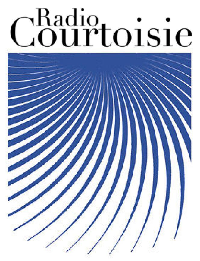Logo de Radio Courtoisie, radio associative lancée en 1987.