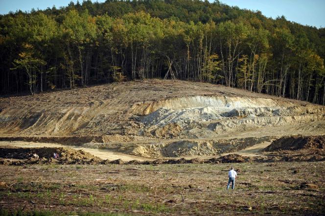 La zone humide du Testet, près de Gaillac, en novembre 2014.
