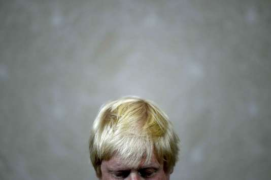 Boris Johnson, chef de file de la campagne du « Leave ».