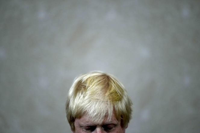 Boris Johnson, chef de file de la campagne du« Leave».