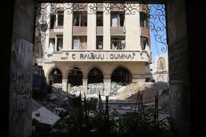 A Alep, le 3 juillet.