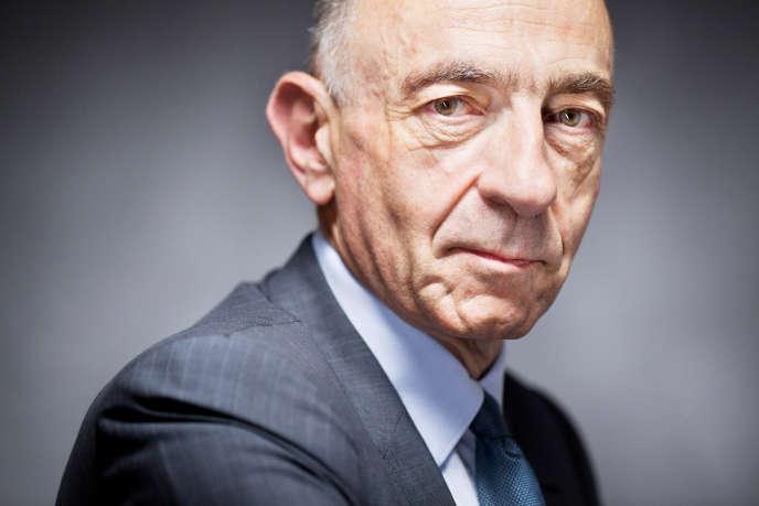 Jean-Marc Janaillac, nouveau PDG d'Air France-KLM.