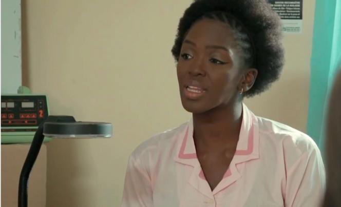 Fatou Jupiter Touré incarne la sage-femme Assitan dans la série «C'est la vie».