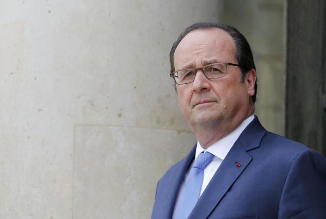 François Hollande à l'Elysée, le 4 juillet.