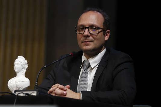 Samuel Mayol, à Paris, le 26 octobre.