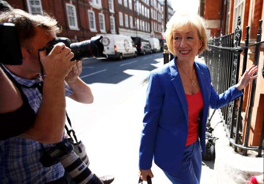 Andrea Leadsom, à qui l'ancien maire de Londres apporte son soutien.